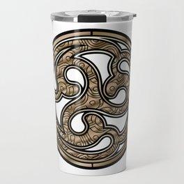 Bronze Medallion Travel Mug