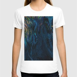 deep dark blue T-shirt