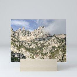 Montserrat Mountain (Catalonia) Mini Art Print