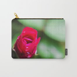 Tiny Rose Carry-All Pouch