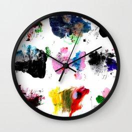 9 abstract rituals (2) Wall Clock