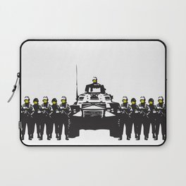 Banksy Have a nice day Laptop Sleeve