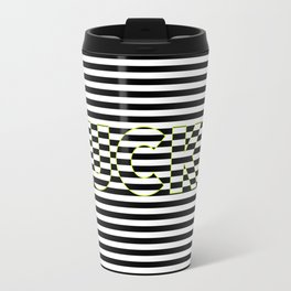 FUCK THE LINES. Travel Mug