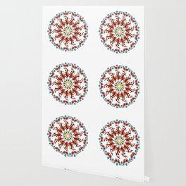 Hand drawn Mandala design Wallpaper