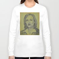 scully Long Sleeve T-shirts featuring Scully by Jenn