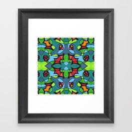 Fiesta2 // It's a #Throwback Framed Art Print