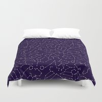 astrology Duvet Covers featuring Astrology by Dani Aviles