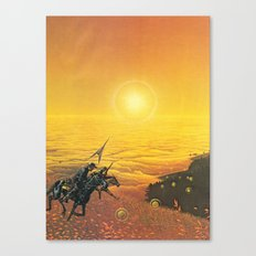 The Wild West Guide To The Galaxy #223 Canvas Print