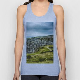 Cantabrian Mountains Unisex Tank Top