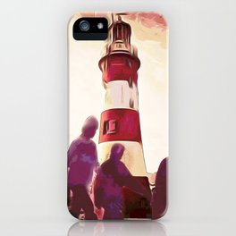 The Roses discover Fools Gold meandering on Plymouth Hoe iPhone Case