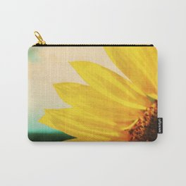 The Energy of Sunflower Carry-All Pouch