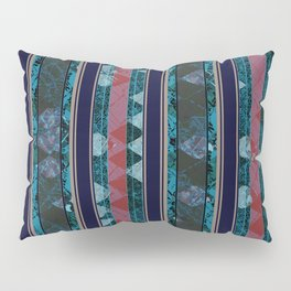 Dark Argyle Pillow Sham