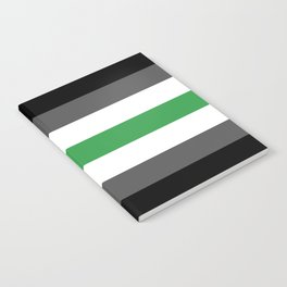 Agender Flag Notebook