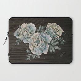 Peony Wood Laptop Sleeve