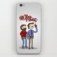 tool iPhone & iPod Skins featuring tool time. by dann matthews