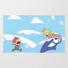 Mario's Adventure Time Rug