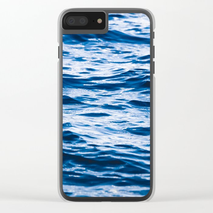Waves at the Lake Clear iPhone Case