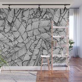 Black & White Jungle #society6 #decor #buyart Wall Mural