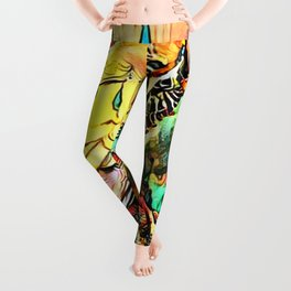Budgie Love Leggings