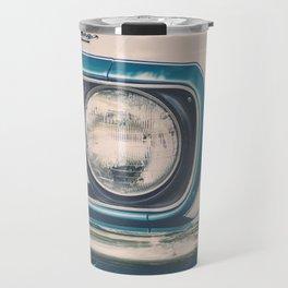 Blue Classic Camaro Travel Mug