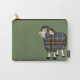 Faded Johnston Tartan Sheep Carry-All Pouch
