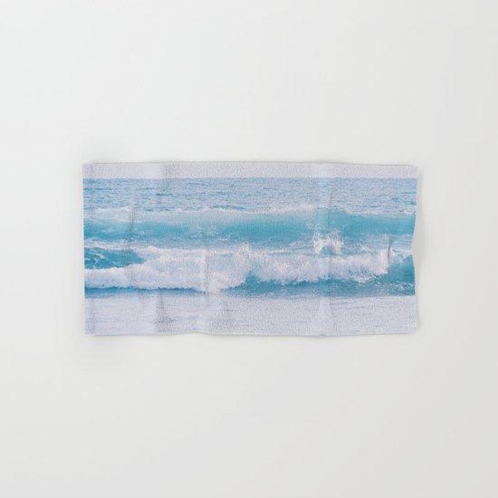 Pastel Ocean #waves Hand & Bath Towel