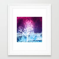 mosaic Framed Art Prints featuring MOSAIC by INA FineArt