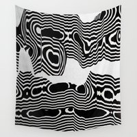 tchmo Wall Tapestries featuring Untitled 20150425l by tchmo