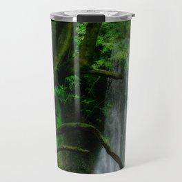 Waterfall in Azores islands Travel Mug