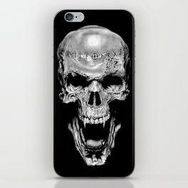 Vampire Runed Skull iPhone Skin