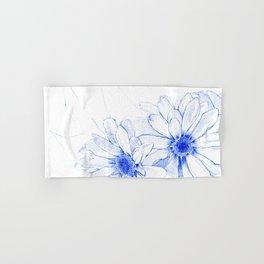 Blue Flowers Hand & Bath Towel