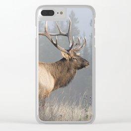 Bull Elk One Clear iPhone Case