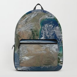 Planet Earth from Above Backpack