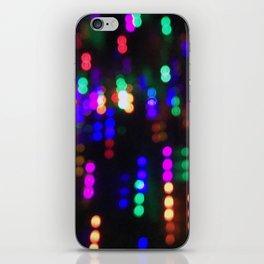 Night Lights in December no. 2 iPhone Skin