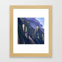 Hawaii's Secret Sanctuary: View from the Sky Framed Art Print