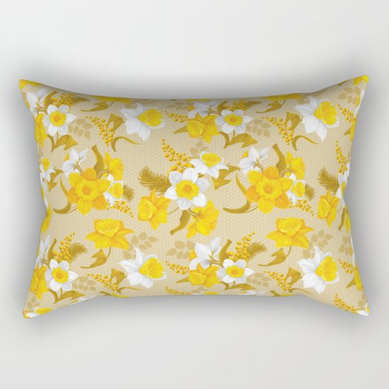 Spring in the air #15 Rectangular Pillow