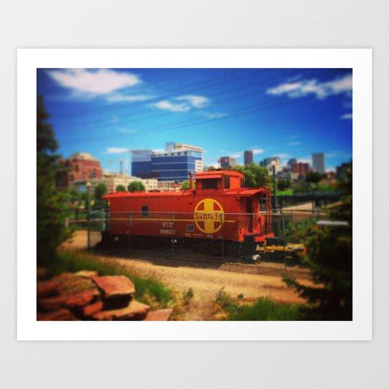 Platte Valley Trolley Art Print