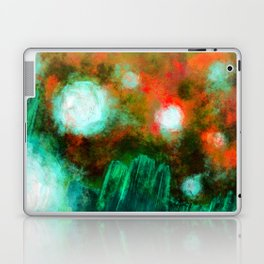 Abstract Landscape (Floating Lights) Laptop & iPad Skin