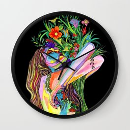 Senses Wall Clock