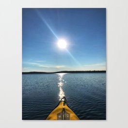 Solitude - Cree Lake, Saskatchewan Canvas Print