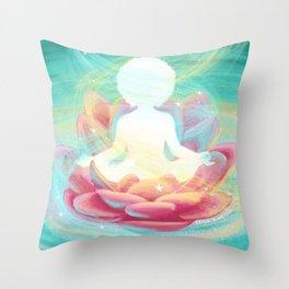 Esperanza Spalding - Lotus Flower Throw Pillow