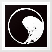 ying yang Art Prints featuring Ying Yang by jajoão