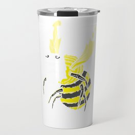 Show Me Your Boo Bees Honey Ghost Funny Halloween Gift Travel Mug