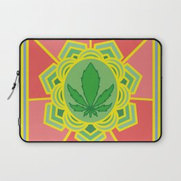 holy cannabis Laptop Sleeve