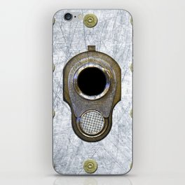 M1911 45 Framed With 45 Case Heads iPhone Skin