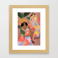 Mister Zimi Jumpsuits Framed Art Print