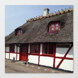 Farm house Denmark Canvas Print
