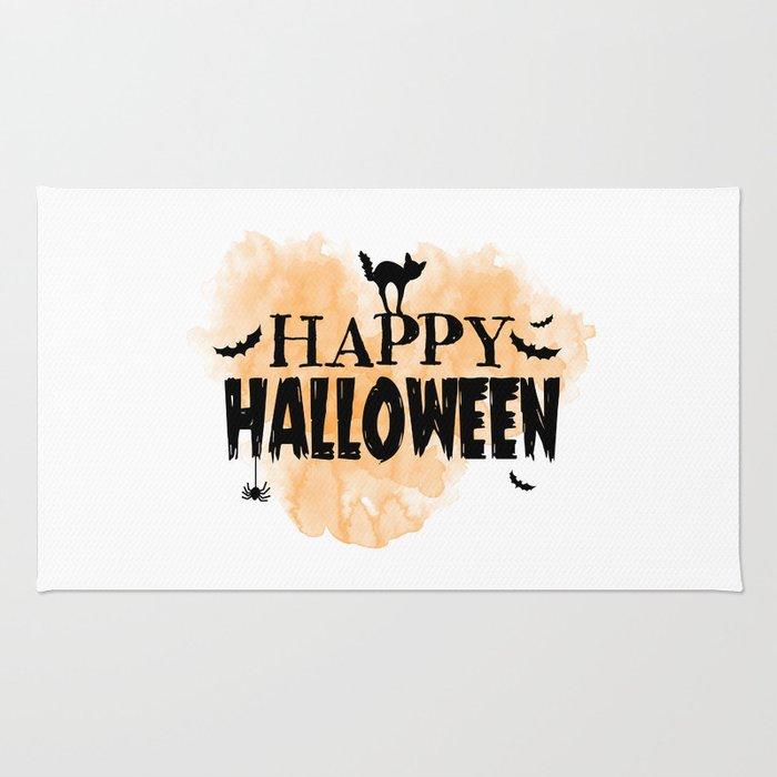 Happy Halloween | Spooky Rug