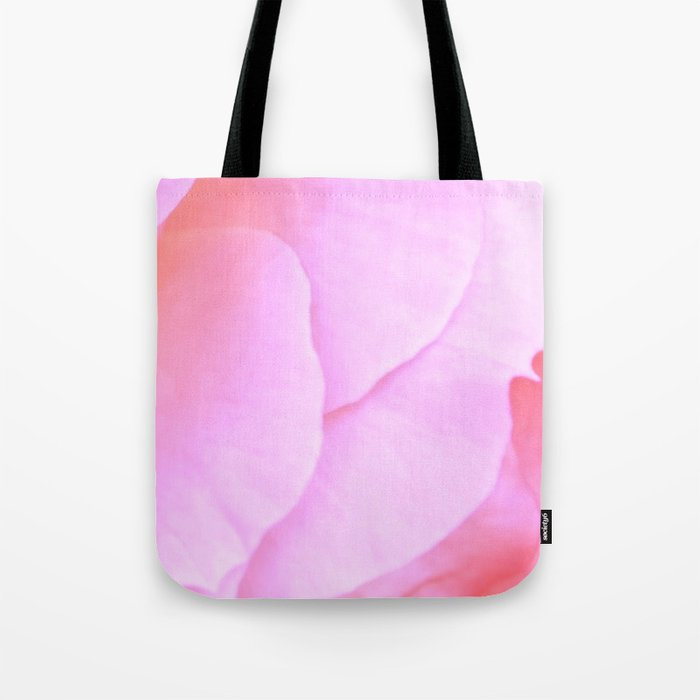 Flower Flowers Fl Pink Rose Petals Nadia Bonello Tote Bag