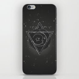 Mysterious moon iPhone Skin